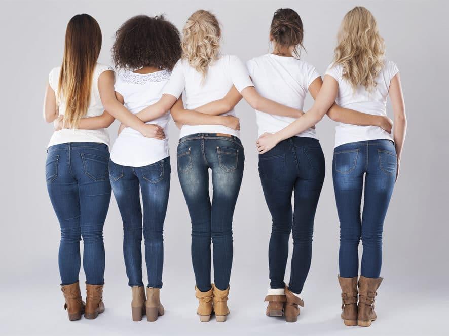 Une Morpho, un jean.